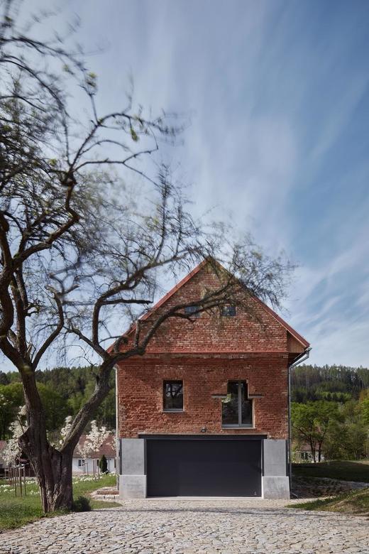 Dom w dawnym spichlerzu