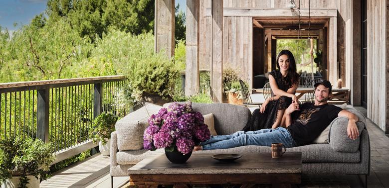 Dom Ashtona Kutchera i Mili Kunis w LA
