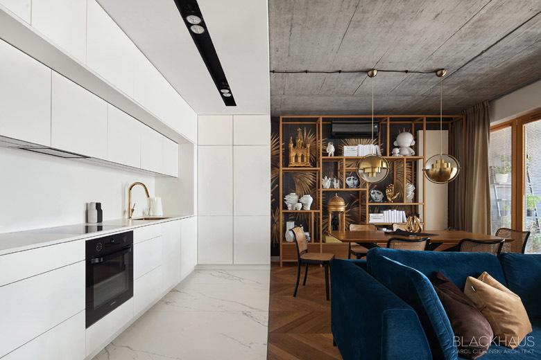 Geometry apartment Blackhaus Karol Ciepliński