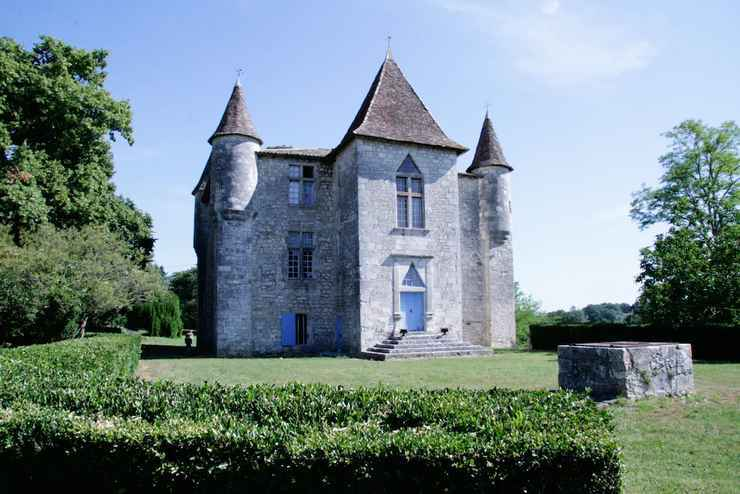 Francuski Chateau w Bordeaux