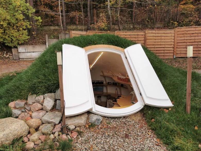 Piwniczki ogrodowe - nowoczesne ziemianki