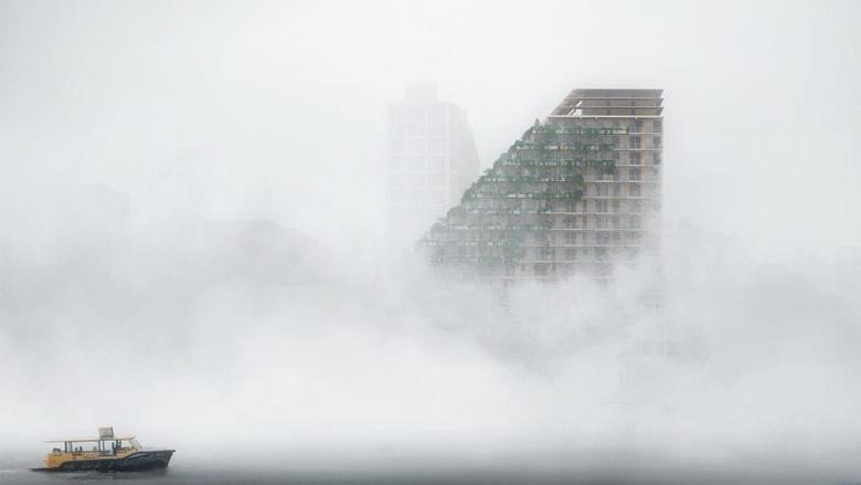 SAWA Drewniany wieżowiec w Rotterdamie