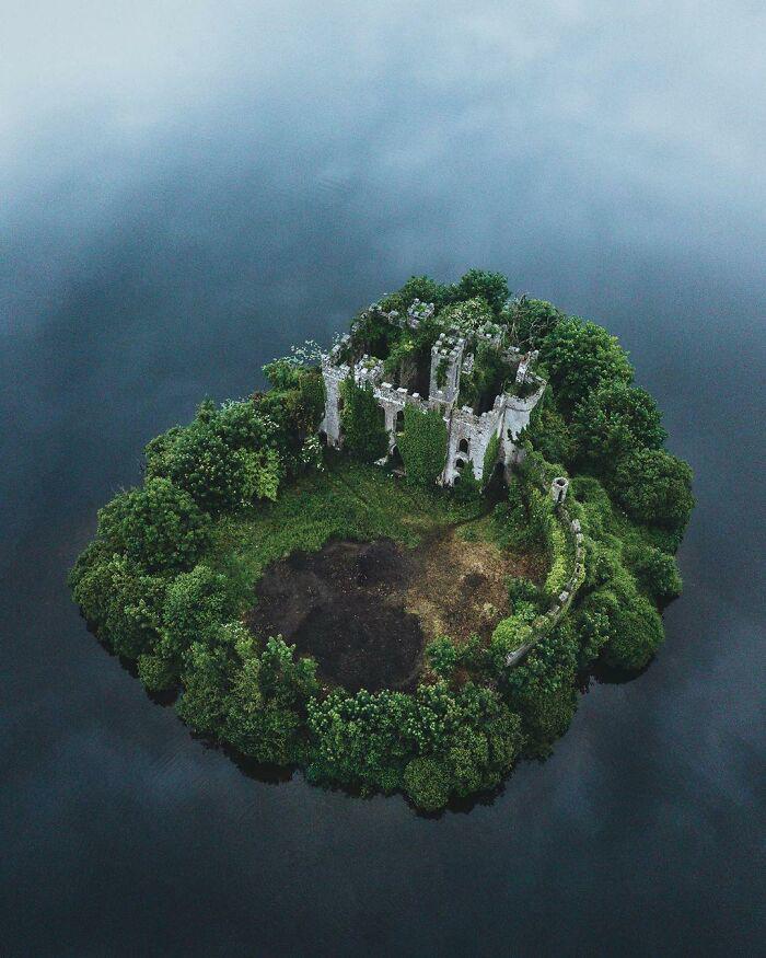 opuszczony zamek, Irlandia