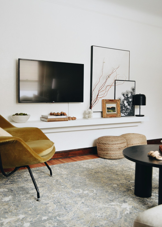 Ściana telewizyjna zdjęcia