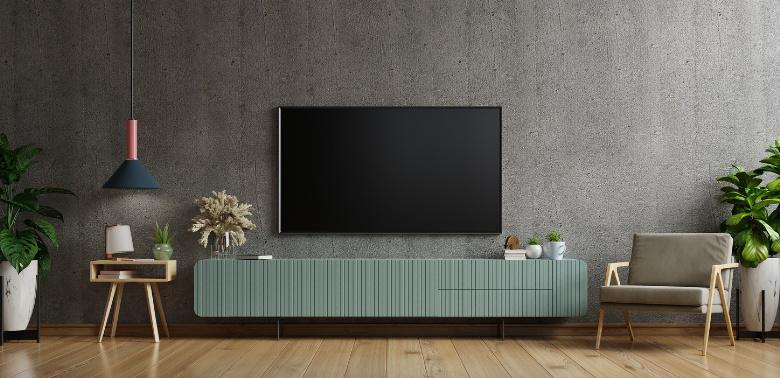 Ściana-z-telewizorem-jak-zaaranzowac