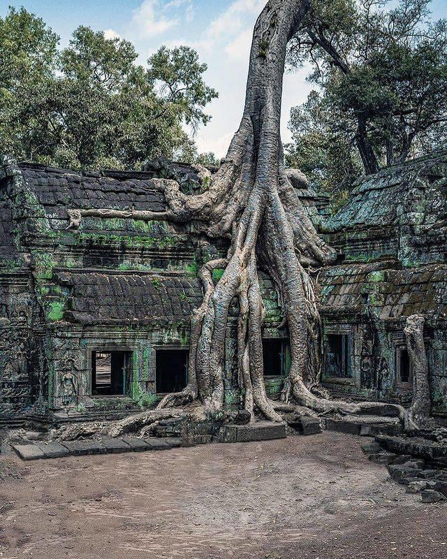 Dom w Kambodży
