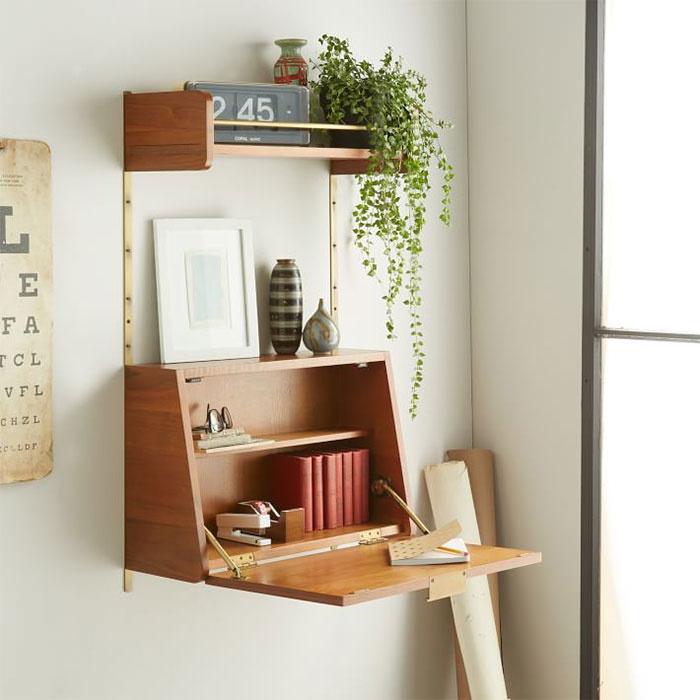 półka i biurko w jednym