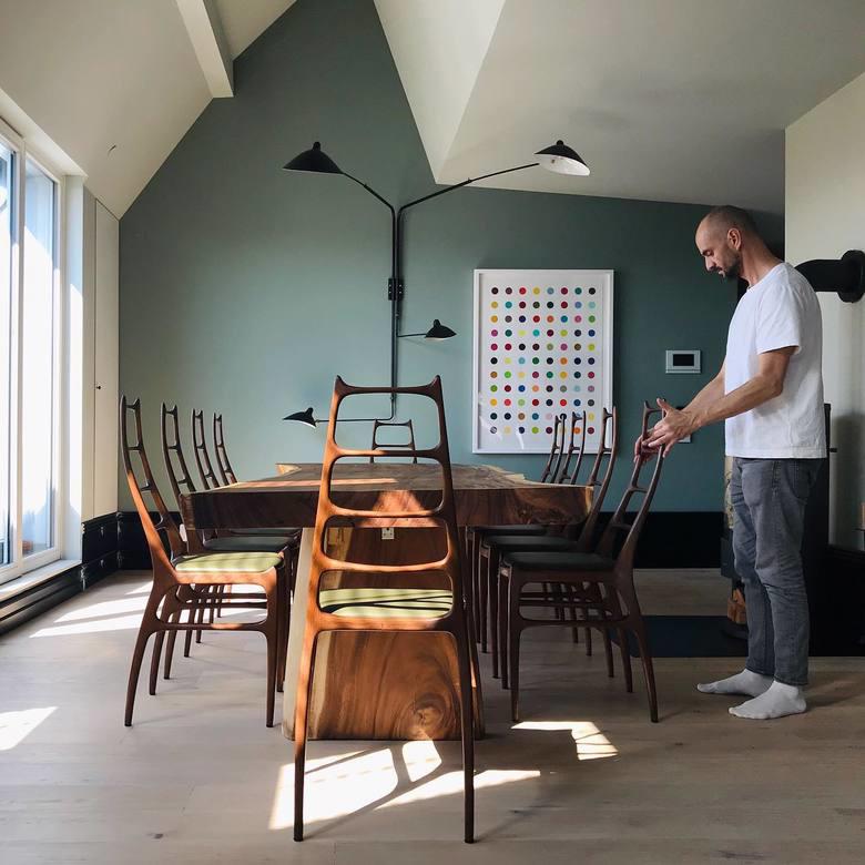 Krzesła PAJĄK H106E. Homa Politura